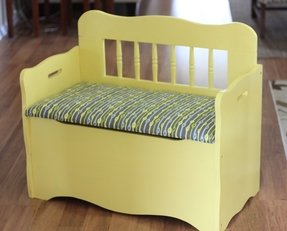 Wooden Toy Chest Bench Foter