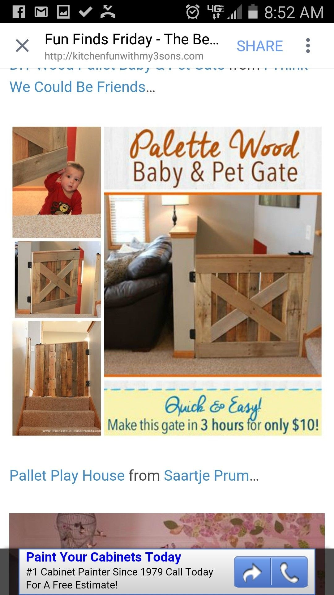 Wooden Indoor Dog Gates