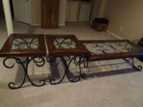 Lovely Wrought Iron Coffee Tables For Sale 1
