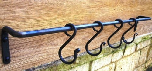 Wrought iron hooks for sale