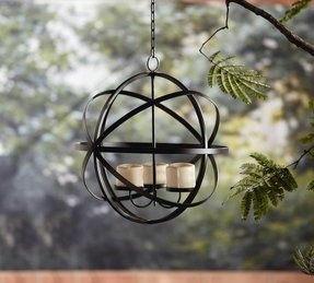 Wrought Iron Hanging Candle Holders - Foter on Wrought Iron Outdoor Candle Sconces id=12330