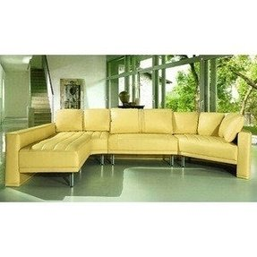 Best Yellow Leather Sectional Ideas On Foter