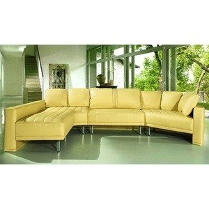 Yellow Sectional Sofa 2