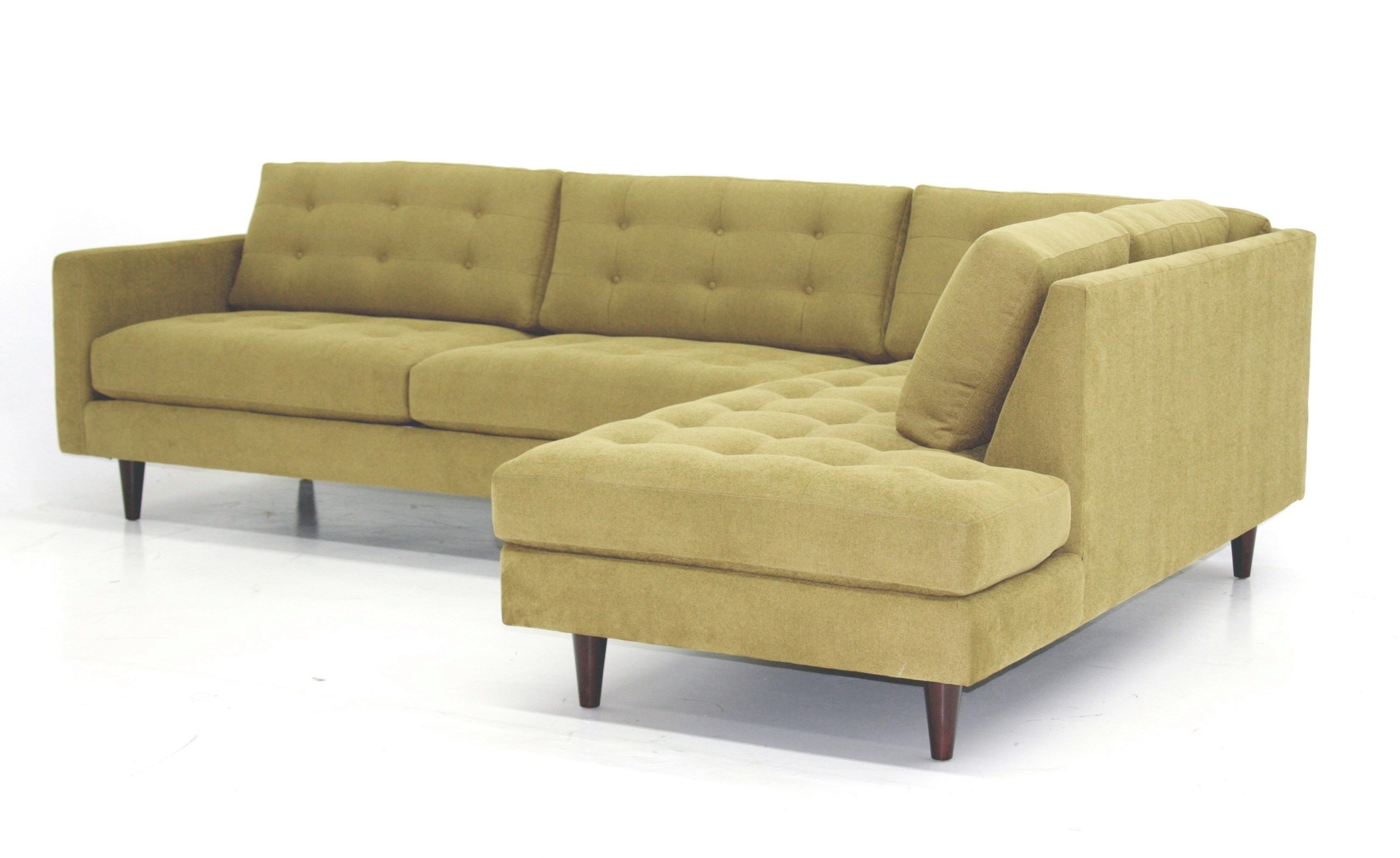 Superbe Yellow Sectional Sofa