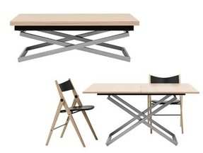 Adjule Height Coffee Dining Table Foter