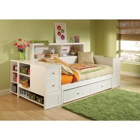Bookcase Daybed With Trundle