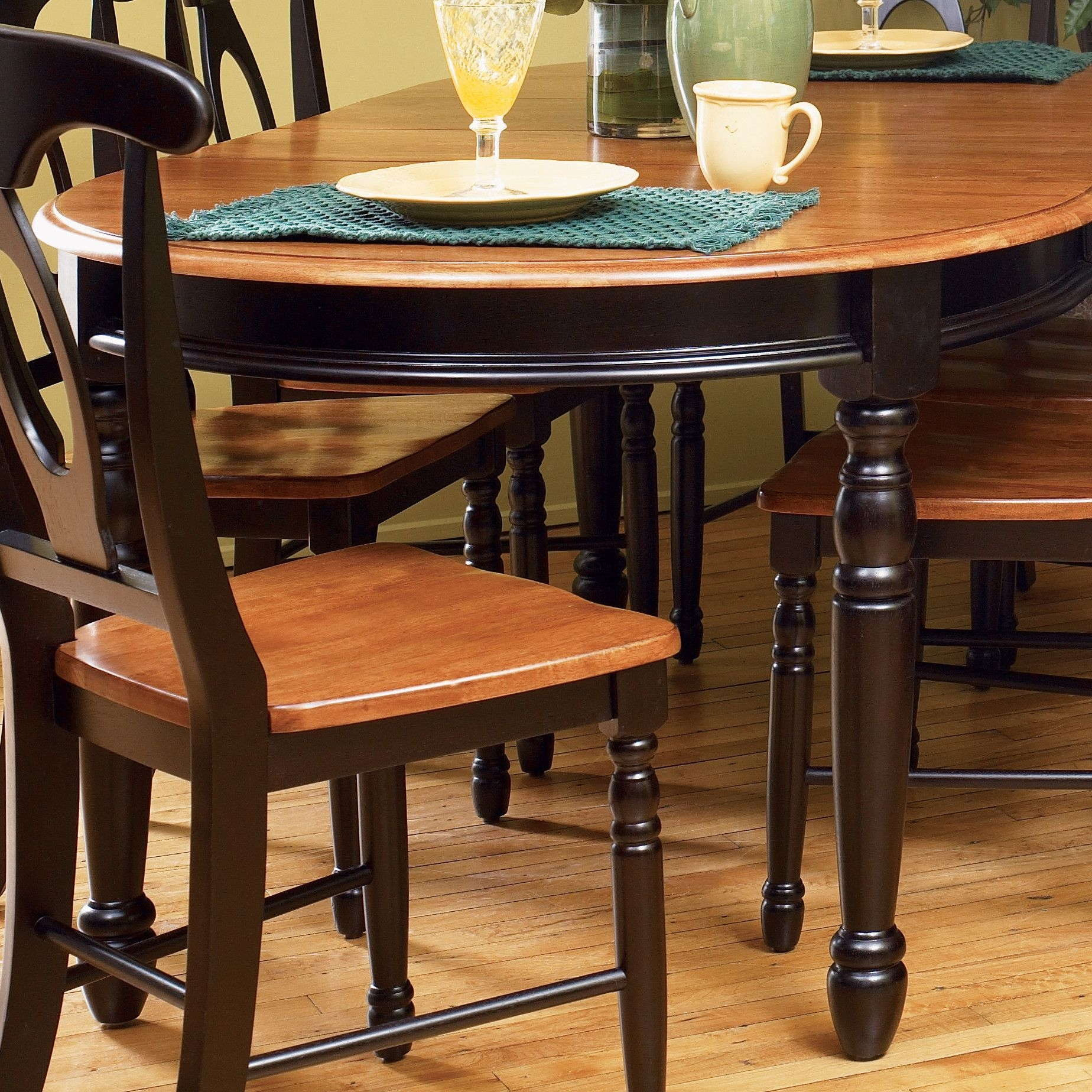 British isles 7 piece oval dining table set by a & Oval Dining Table For 6 - Foter
