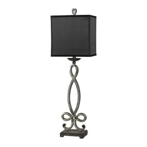 Buffet Lamps With Black Shades 28
