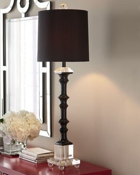 Buffet Lamps With Black Shades Ideas On Foter