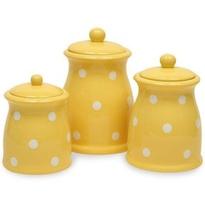 unique kitchen canisters yellow canister set foter 15275