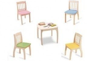 Childrens table and chair sets wooden 1