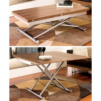 Coffee dining table conversion