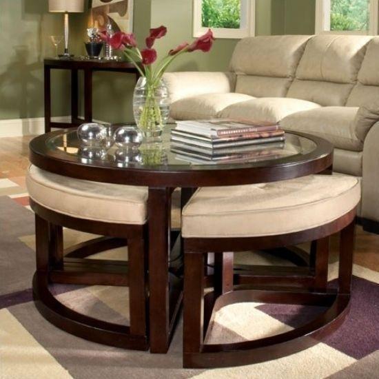 Beau Coffee Table And Ottoman Set