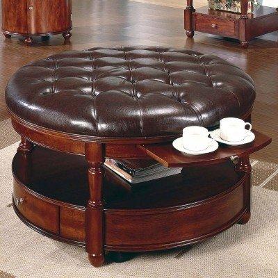 Coffee Table Storage Ottoman