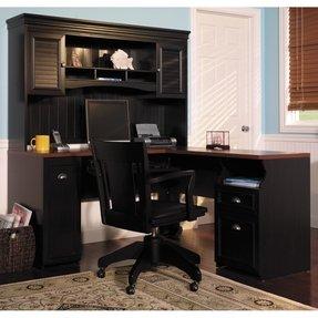 Corner Desk Home Office Ideas from foter.com