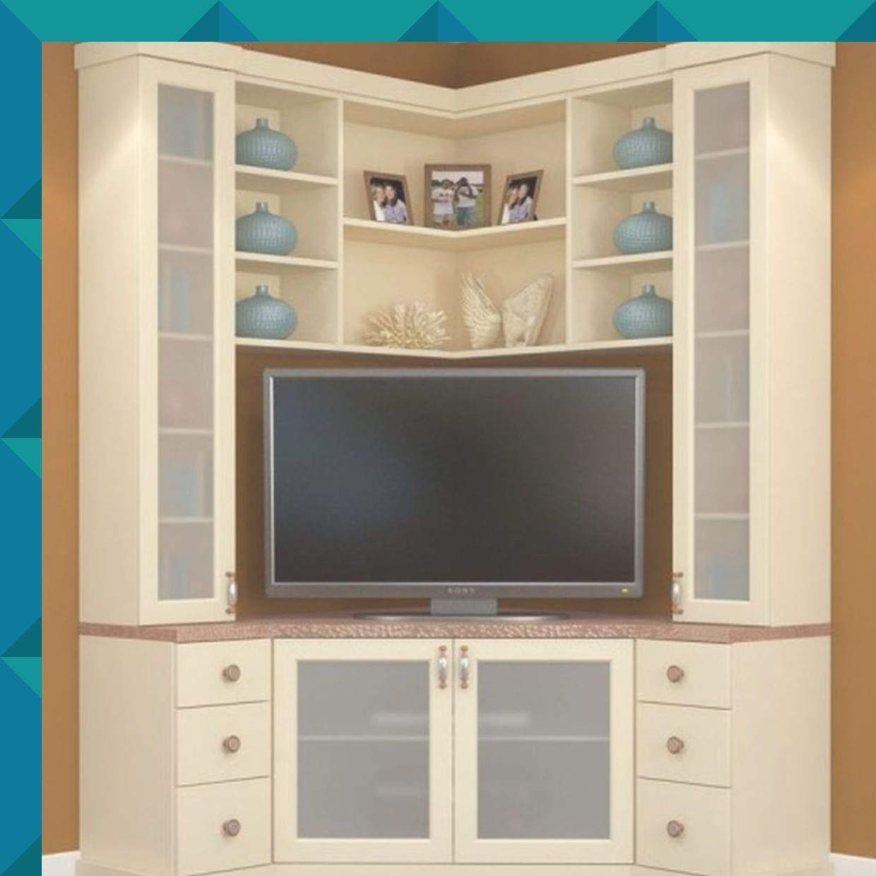 Corner Tv Stand With Showcase Designs For Living Room Www Resnooze Com