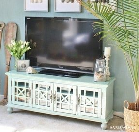 Cottage Style Tv Stand 1