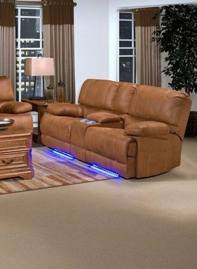 Couch with cup holders