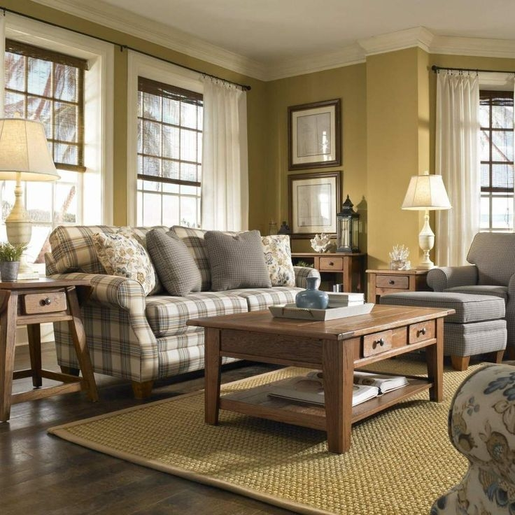 Country Living Room Furniture Sets 12