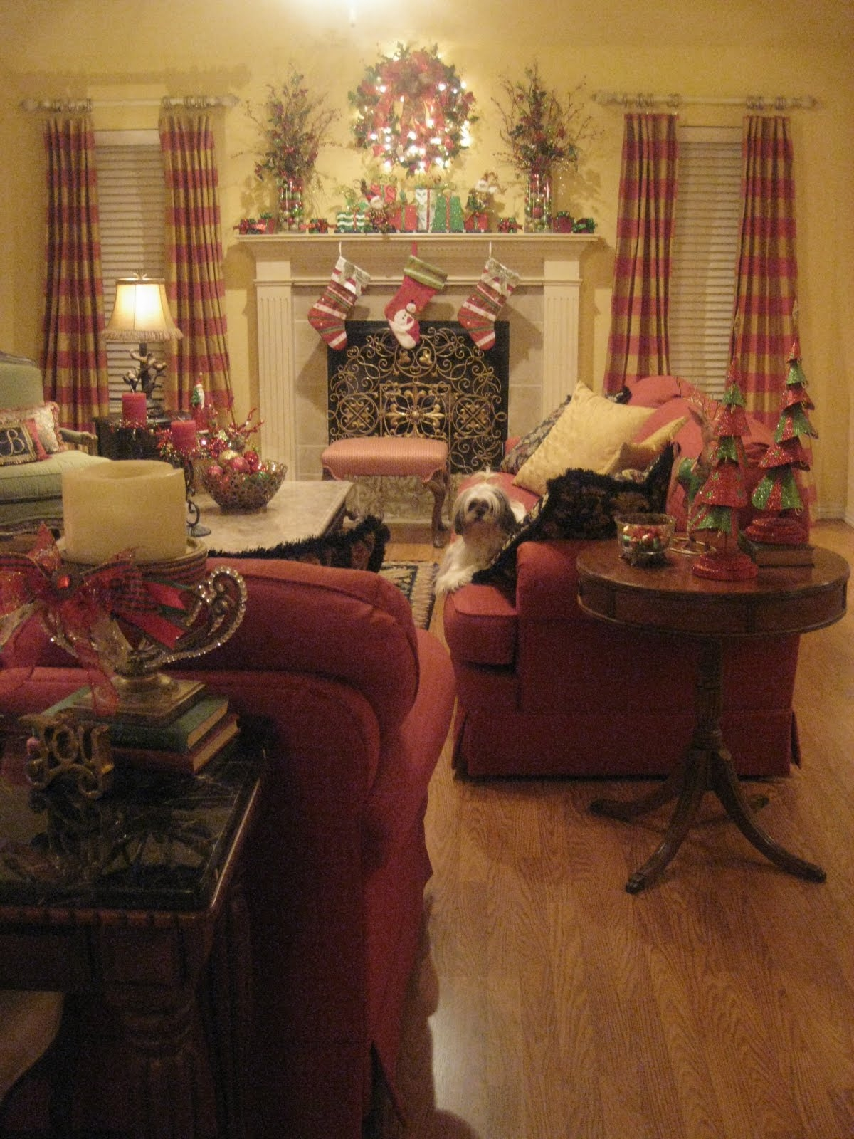 Country Living Room Furniture Sets 9