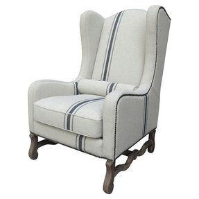 Cozy country camille arm chair