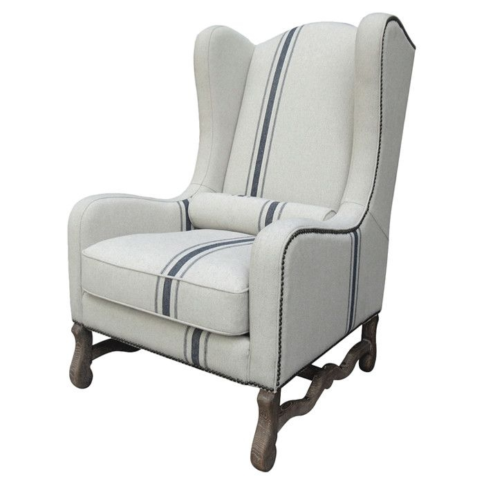 Cozy country camille arm chair  sc 1 st  Foter & Striped Accent Chair With Arms - Foter