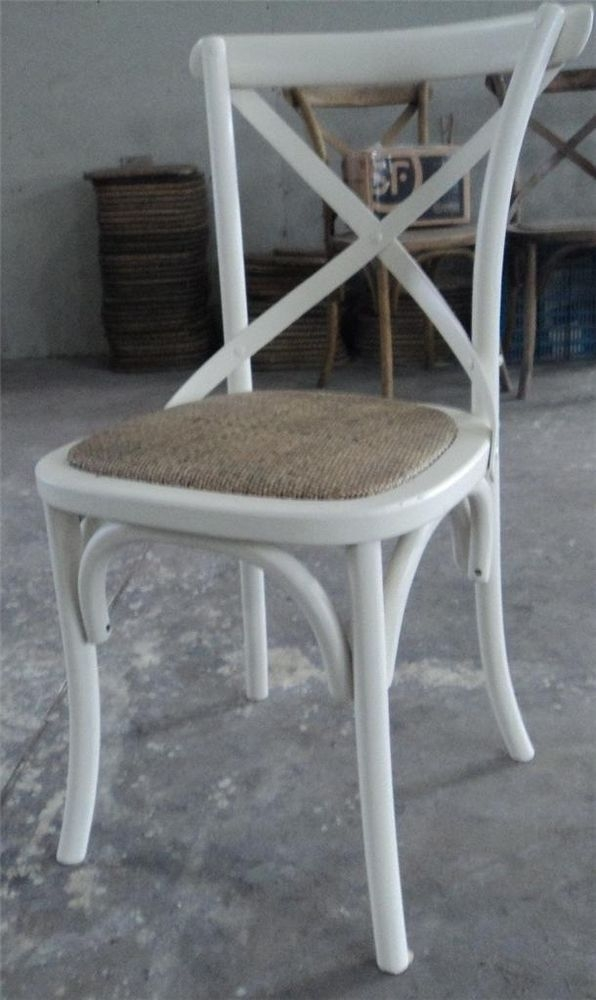 Cross Back Dining Chair 8