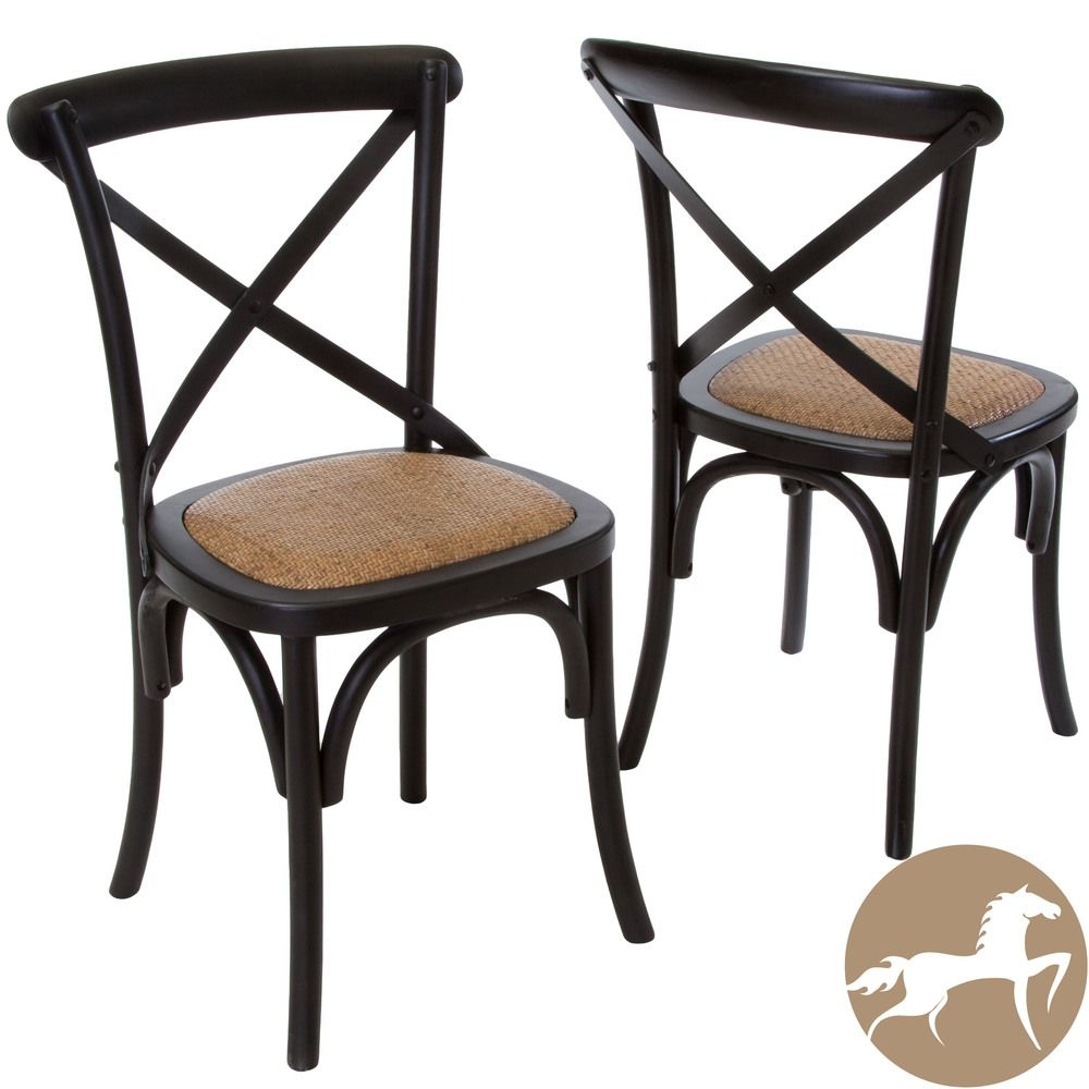 Cross Back Kitchen Chairs