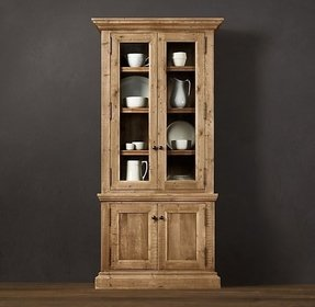 Narrow china cabinet foter for Narrow dining room cabinet