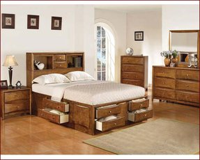 platform bed full size with drawers foter. Black Bedroom Furniture Sets. Home Design Ideas
