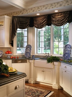 Drapes with valances 4