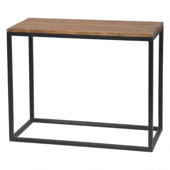 Family room must haves stackable end table in red