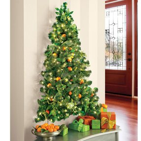 Flat back christmas tree 1