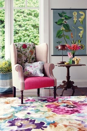 Floral Accent Chairs - Foter