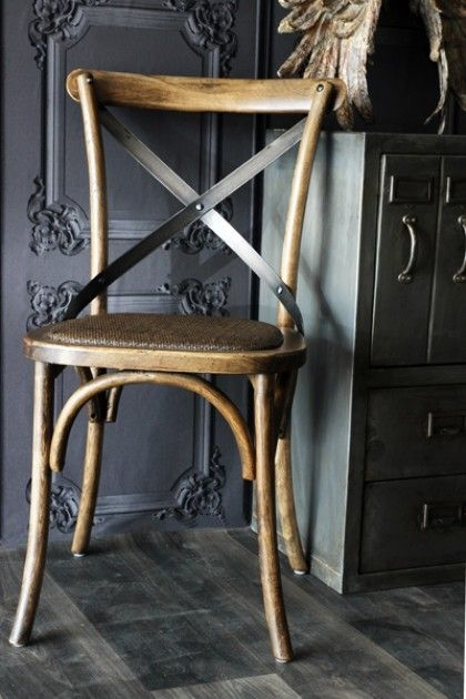 French Cross Back Chairs
