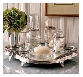 Glass mirror tray 5