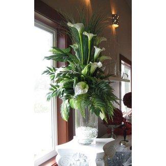 Silk flower arrangements in vases foter how to make a silk flower arrangement in a vase mightylinksfo