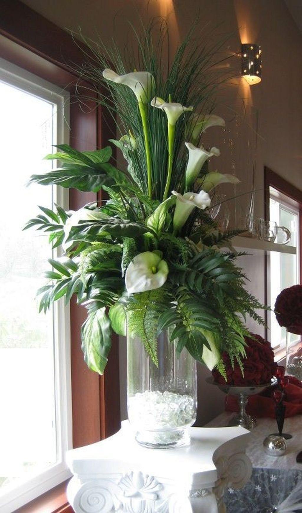 How To Make A Silk Flower Arrangement In A Vase