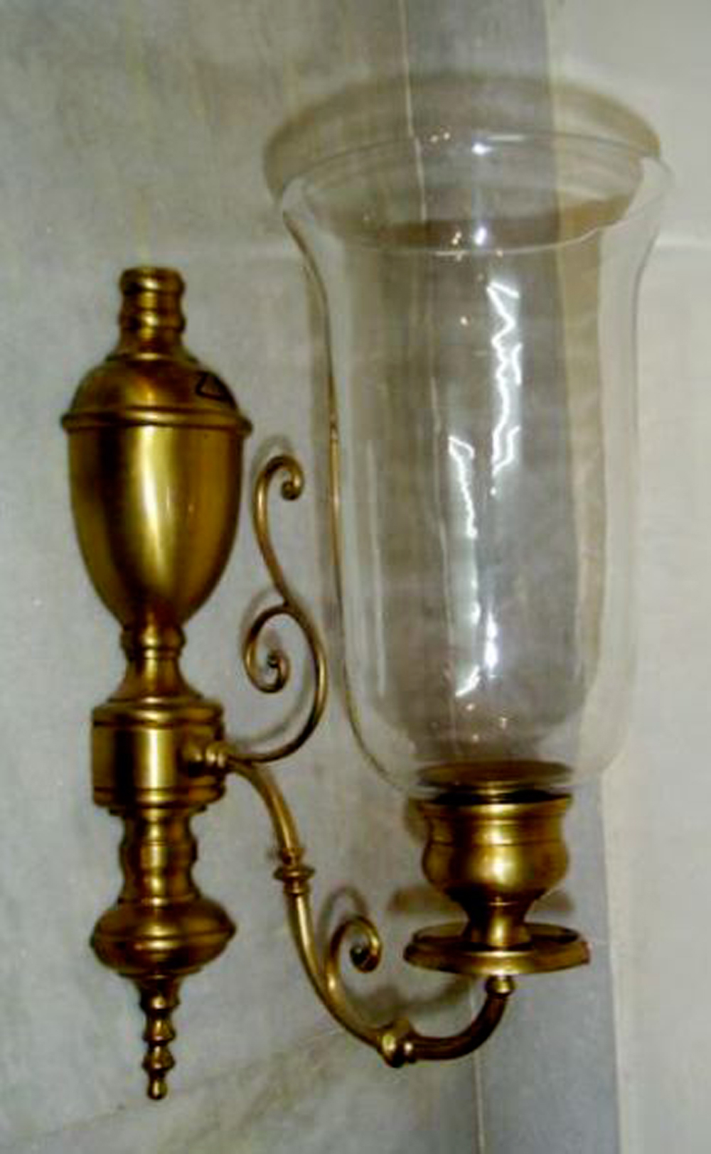 Hurricane Wall Sconces For Candles
