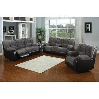 Jagger Grey Dual Reclining Sofa And Loveseat