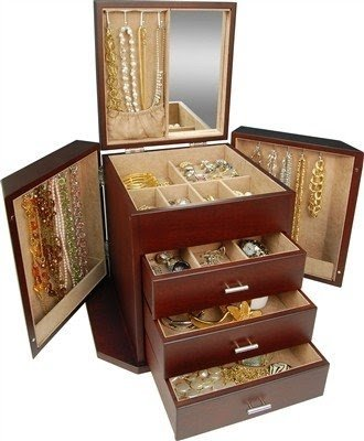 Cherry Wood Jewelry Box Foter