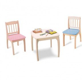 Kids chalkboard table and chair  sc 1 st  Foter & Childrens Table And Chair Sets Wooden - Foter