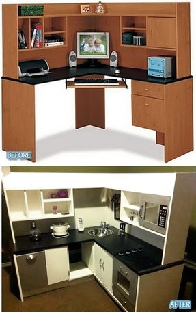 awesome spaces corner desk desks cellerall small images inspiration com kids