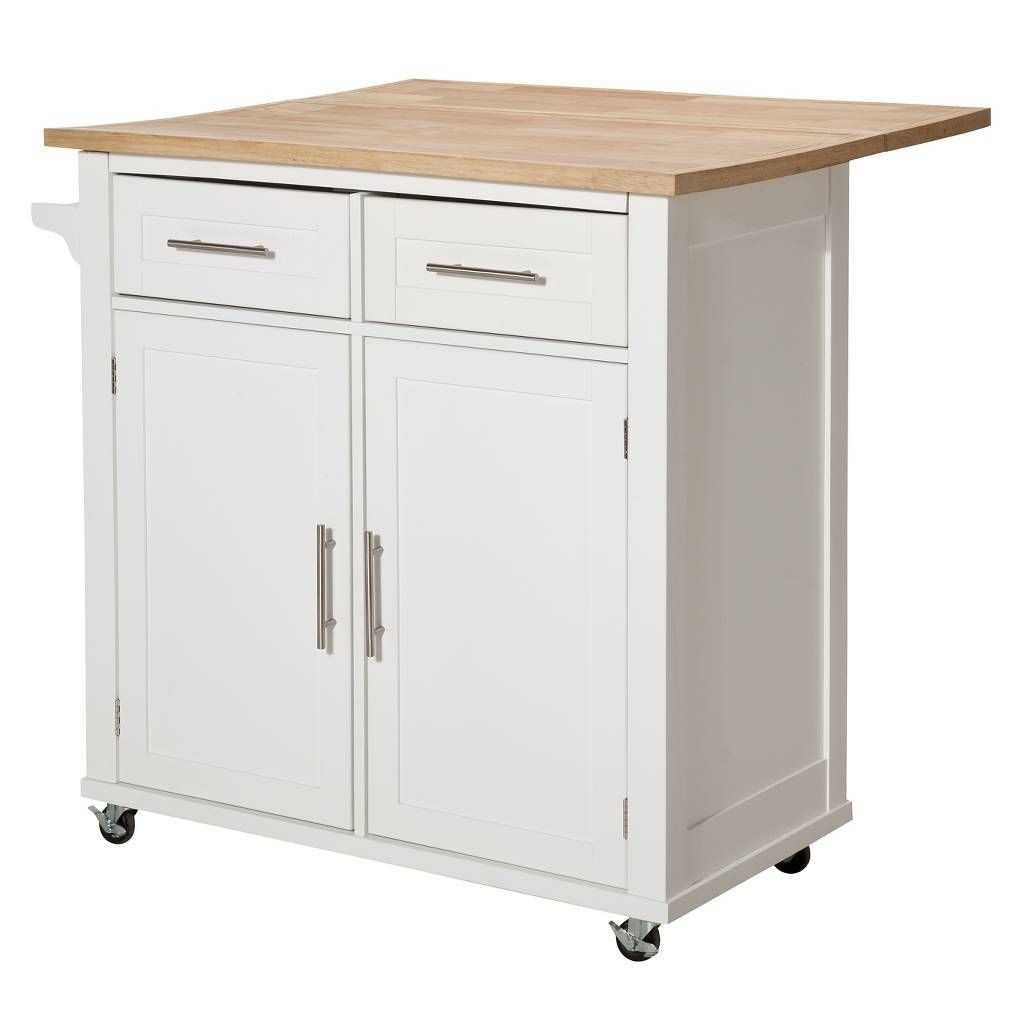 Beau Kitchen Island Drop Leaf Table