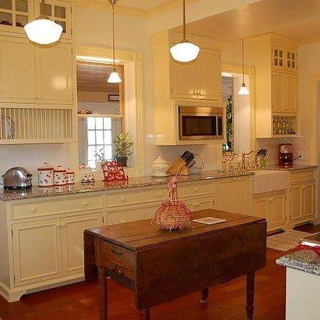 Kitchen Island Table Combination