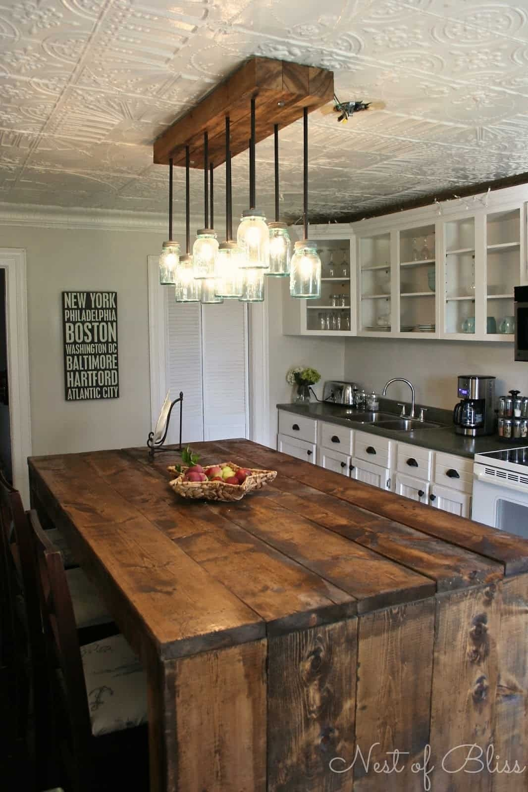 Kitchen Island With Butcher Block Amazing Pictures