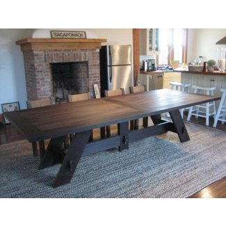 Large Dining Room Tables Seats 10 Ideas On Foter