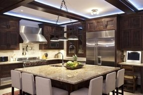 Granite kitchen island with seating foter - Large kitchen islands with seating and storage ...