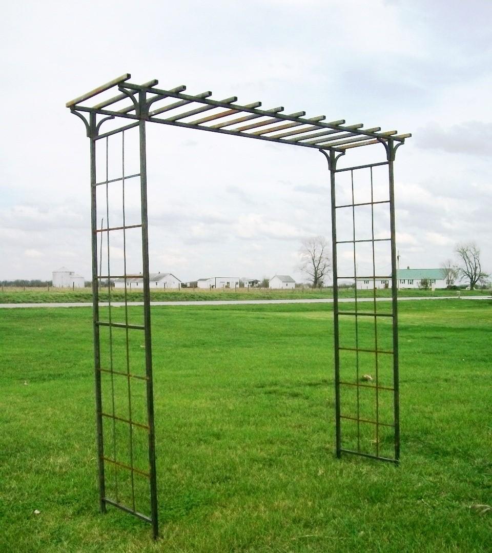 Beau Metal Garden Arbors And Trellises   Ideas On Foter