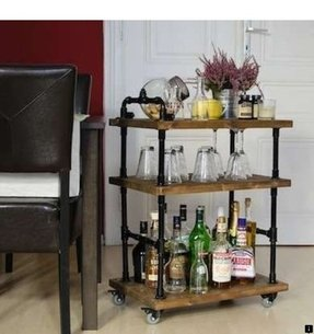 Mini bar table